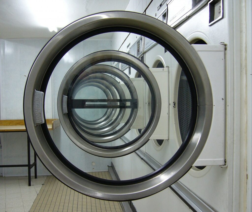 laundromat, circles, laundry machine-315374.jpg